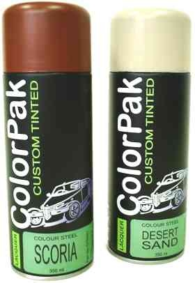 Colorpak - Colour Steel Series-aerosol steel paint, aerosol steel car paint, car spray paint, car paint supplies, automotive spray paint products, car restoration products, colorpak car products, car repair products, car colors, car colors of north shore, auckland,