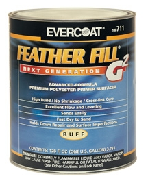 Evercoat - Featherfill G2-evercoat body filler, car body filler, car paint supplies, automotive spray paint products, car restoration products, evercoat car products, car repair products, car colors, car colors of north shore, auckland, car body filler products, automotive polishing products