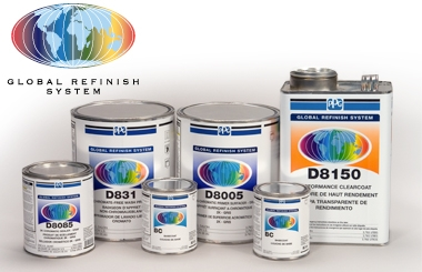 PPG - Global Refinish System-car paint supplies, automotive paint supplies, car restoration products, car colors, global refinish system, ppg global refinish system, ppg, car colors north shore, auckland new zealand