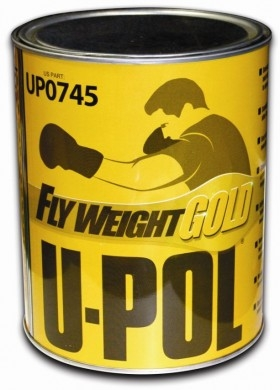 U-Pol Flyweight Gold-Flyweight Gold, u-pol Flyweight Gold , upol Flyweight Gold , u-pol body filler, automotive paint supplies, car restoration