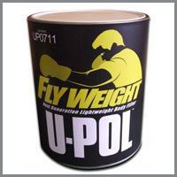 U-Pol Flyweight-u-pol flyweight, flyweight body filler, upol body fillers, car body fillers, upol, automotive paint supplies, car restoration