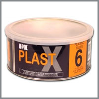 U-Pol Plast X-u-pol Plast X , upol Plast X , u-pol body filler, speciality fillers, automotive paint supplies, car restoration